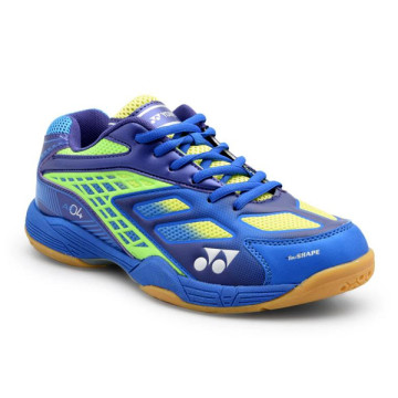Sepatu Yonex All England 04 (Blue/Dark Violet/Neon Green) image