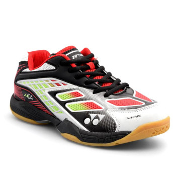 Sepatu Yonex All England 04 (White/Black/Bright Red)