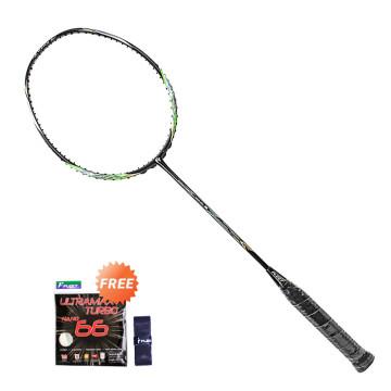 Fleet Control Wind 6 Raket Badminton + Ultramax 66 Senar Raket + Grip Karet image