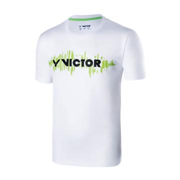 Kaos Badminton Victor T-70028 A (White) image