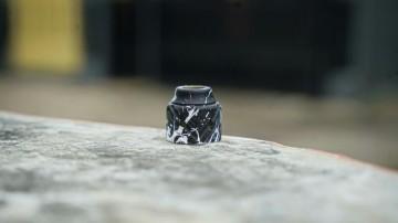 SEBONE CAP BLACK WHITE SPLATTER