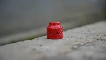 SEBONE CAP RED GLOSSY