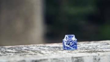 SEBONE CAP BLUE SPLATTER