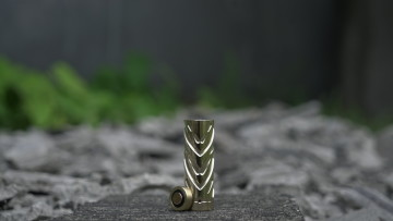 KATANA BRASS STACKED TUBE
