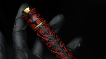 KATANA BLACK AND RED DIAMOND