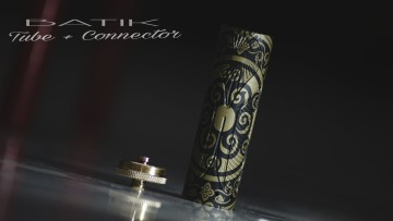 Batik tube chronicle + connector stacked