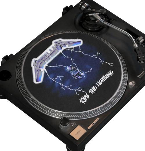 Metallica - Ride The Lightning Turntable Slipmat
