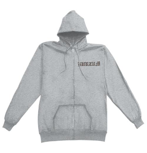 Burzum - Filosofem 2018 Grey Zip Hoodie