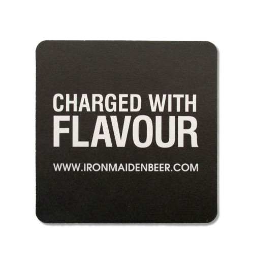 Iron Maiden - Trooper Beer Coaster