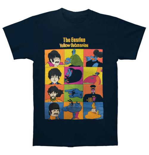 The Beatles - Yellow Submarine Sub Characters Navy
