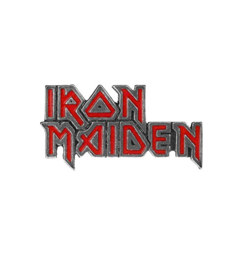 Iron Maiden - Enameled Logo Pin Badge