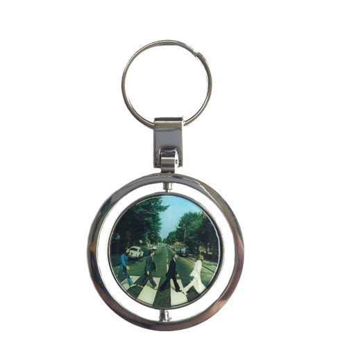 The Beatles - Abbey Road Keychain Spinner