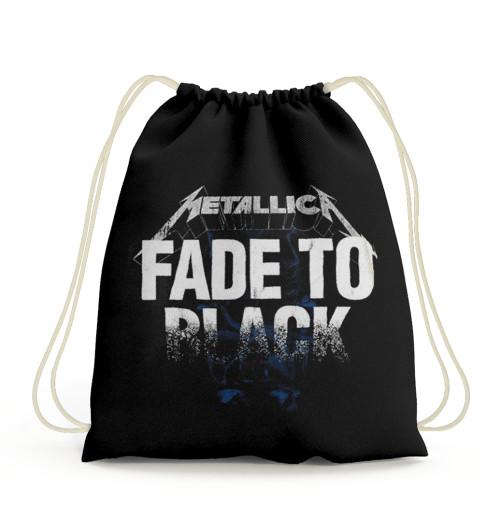 Metallica - Fade To Black Drawstring Bag