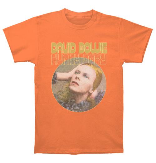 David Bowie - Hunky Dory Portrait Orange