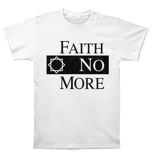 Faith No More - Classic Logo Ver 2 White