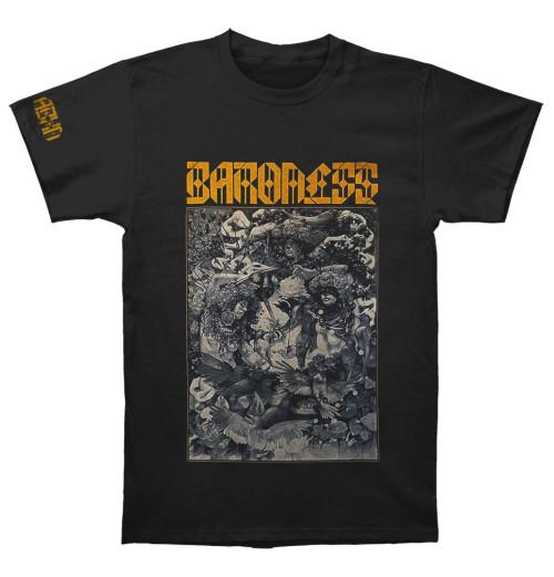 Baroness - Gold & Grey Dateback