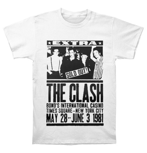The Clash - Bond's 1981 White