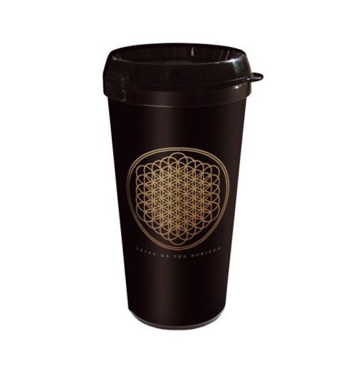 Bring Me The Horizon - Flower Plastic Travel Mug
