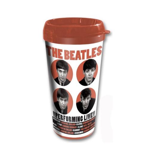 The Beatles - Performing Live Travel Mug