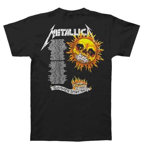 Metallica - Flaming Skull Tour 94