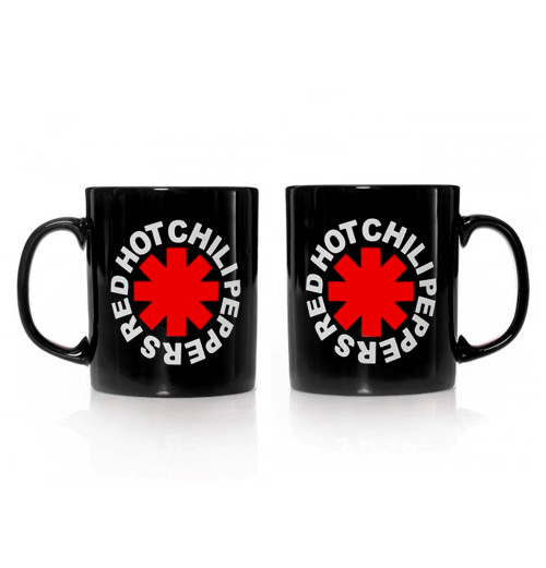 Red Hot Chili Peppers - Asterisk Logo Black Mug