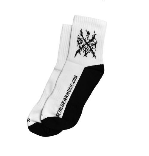 IDDM - Logo White Socks
