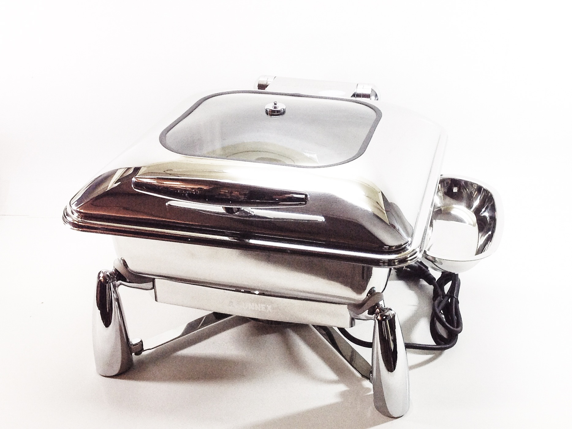 Oslo Electric Square Chafing Dish 5,5 ltr image