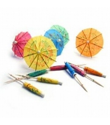 Bareca Cocktail Parasols - Pack of 144 pcs image