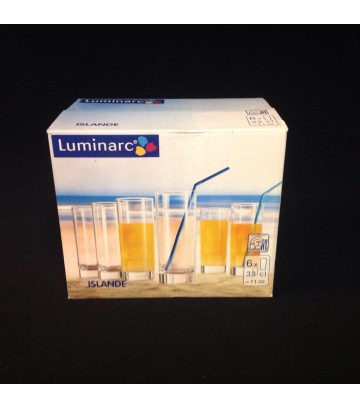Luminarc Arcoroc Islande Collin Glass - Pack of 6 pcs image