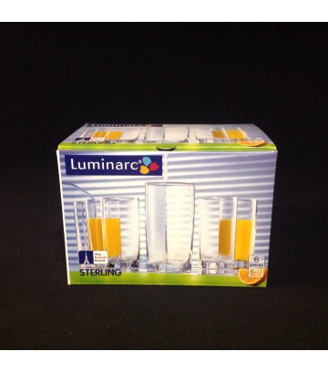 Luminarc Arcoroc Sterling Highball Glass - Pack of 6 pcs image