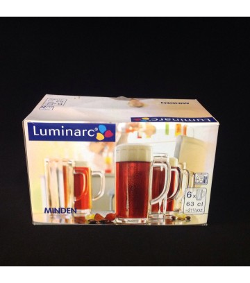 Luminarc Arcoroc Minden Beer Glass - Pack of 6 pcs image