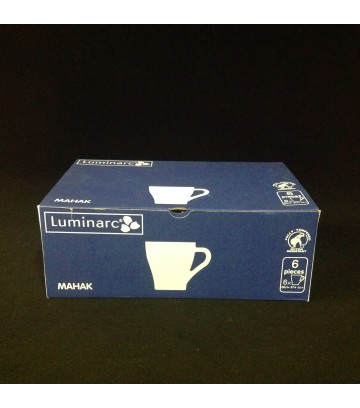 Luminarc Arcoroc Mahak Latte Glass - Pack of 6 pcs image