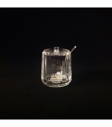 Royale Commercial Sauce Pot Crystal with Spoon image