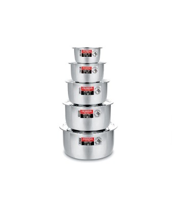 Zebra Indian Pan - Stackable with lid image
