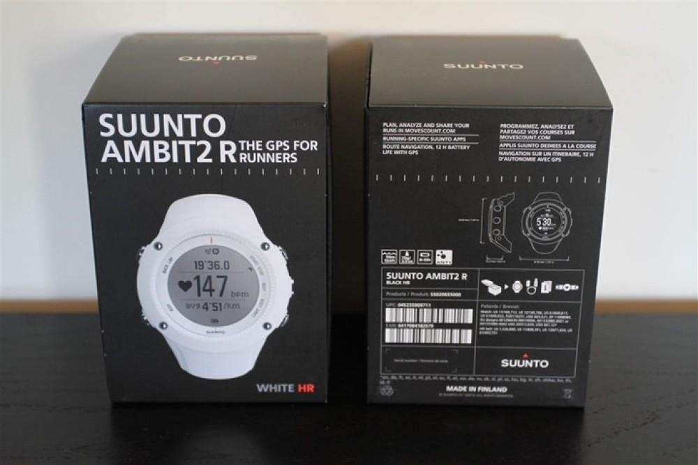 Suunto Ambit2 R White Hr Gps Watch Ss020658000