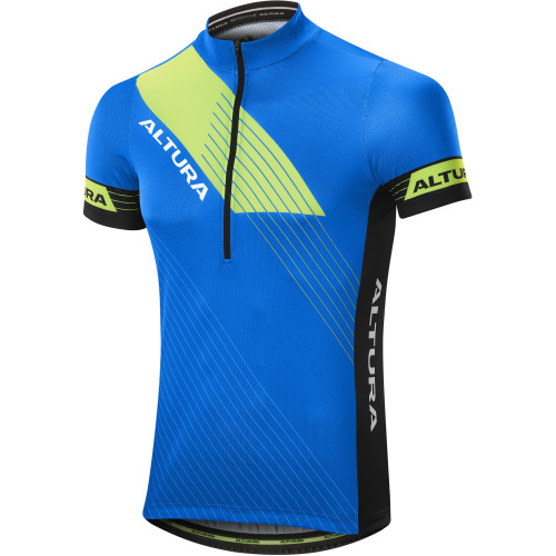 Altura Sportive Team Short Sleeve Cycling Jersey Blue