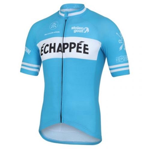 b54c352ff Stolen Goat Men s Limited Edition – Echappee Blue Cycling Jersey