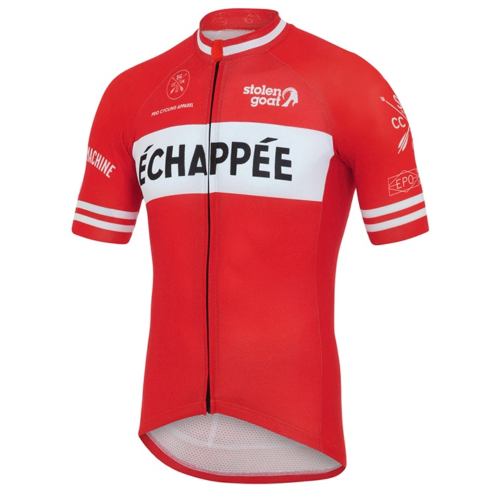 5f966bb5b Stolen Goat Men s Limited Edition – Echappee Red Cycling Jersey
