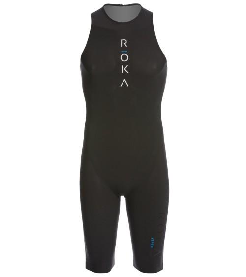 1eacb3b64473d ROKA Sports Men's Viper Comp Swim Skin - Black Black