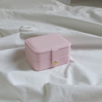 PINK RECTA JEWELRY CASE