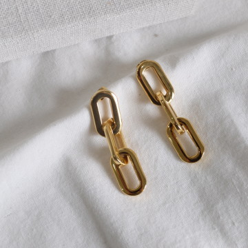 CONSTANCE GOLD EARRINGS