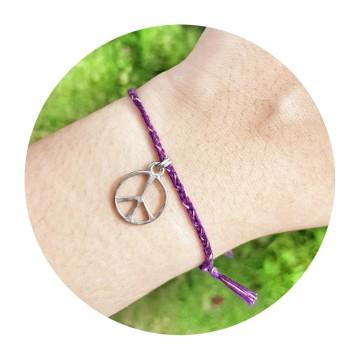 peace dark purple image