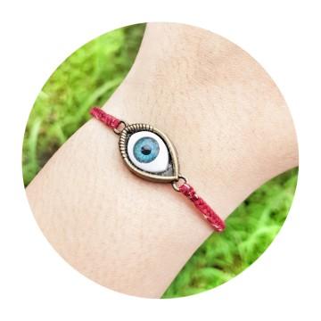 evil eye maroon