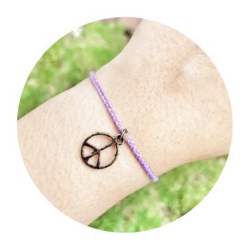 peace light purple