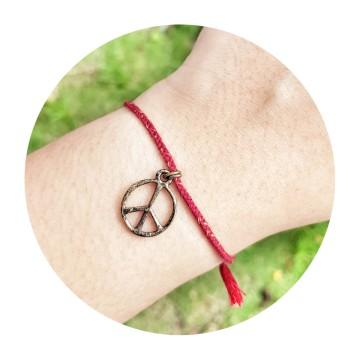 peace maroon