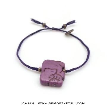 gajah purple image