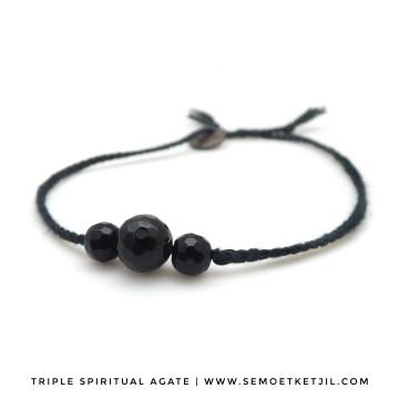 triple spiritual agate image