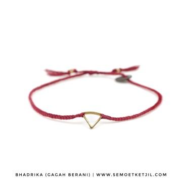 Bhadrika (Gagah Berani) -Triangle Maroon image