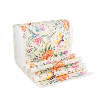 Table Runner Besar Anyelir Krem - Seruni Living