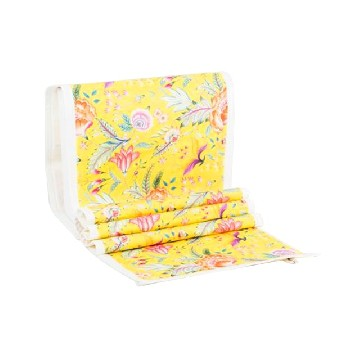 Table Runner Besar Anyelir Kuning - Seruni Living